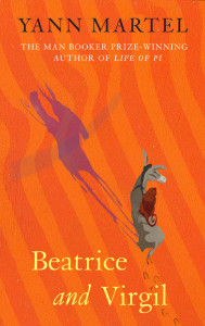 """Beatrice and Virgil"" Book Cover"