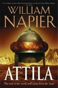 """""""Attila"""" Book Cover"""