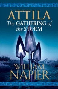 """Attila: The Gathering Storm"" Book Cover"