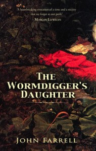 """The Wormdigger's Daughter"" Book Cover"