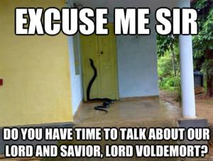 Jehova's Witness - Snake