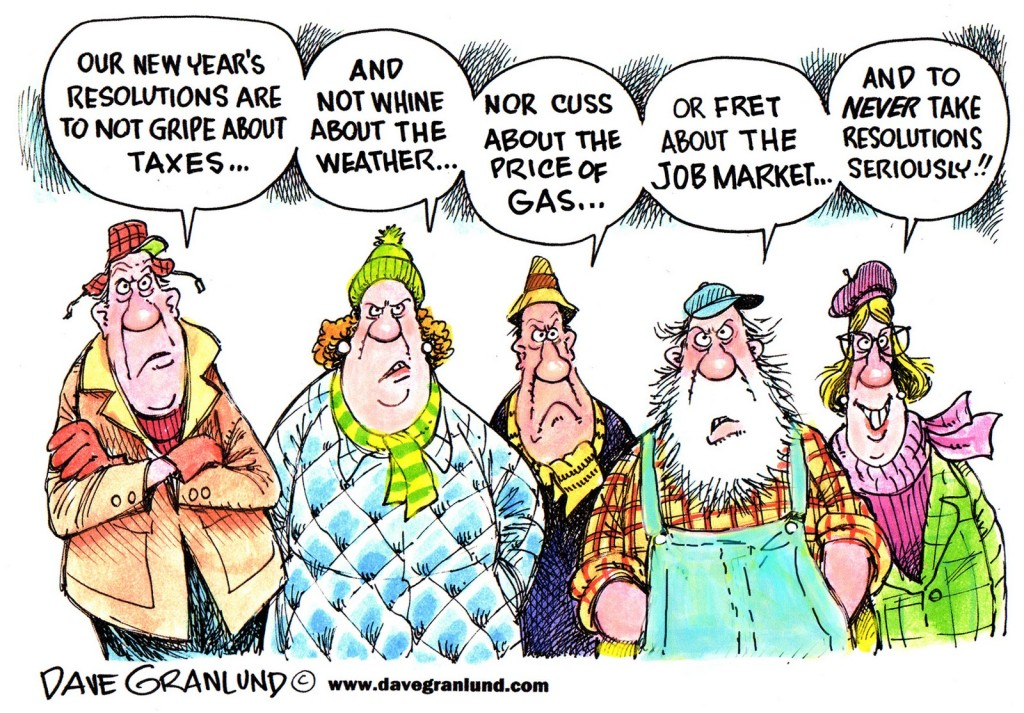 Resolutions Cartoon